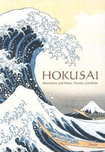 Mountains and water, flowers-and-birds - hokusai cover