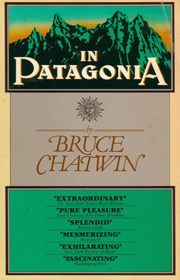 In Patagonia, Bruce Chatwin - cover