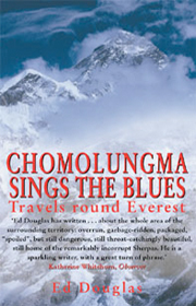 chomolungma sings the blues ed douglas cover art