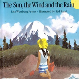 The sun, wind and the rain - lisa westberg peters cover art