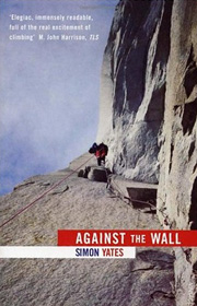 against the wall - simon yates cover art