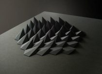 matthew shlian - sphex paper 19 x 25 x 1 inches 2012