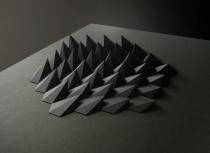 matthew shlian - sphex paper 19 x 25 x 1 inches 2012
