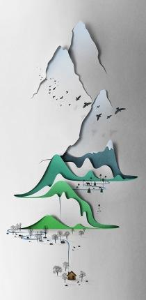 Eiko Ojala paper landscape